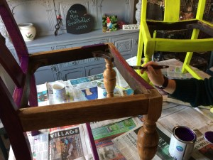 Nice and easy upcycled furniture