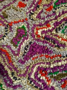 a warm rag rug