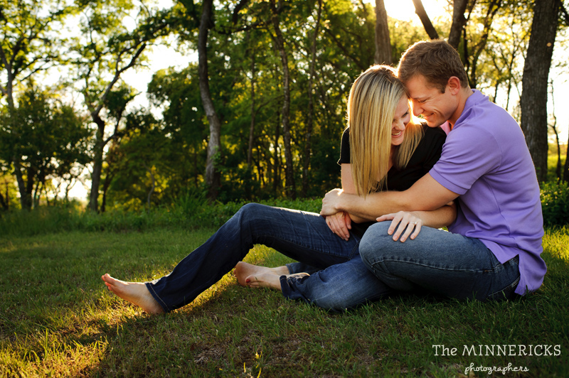 Dallas Engagement Session With A Lovable Golden Retriever