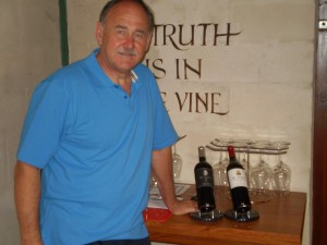 Emil den Dulk, owner of De Toren Private Cellar in Stellenbosch, South Africa