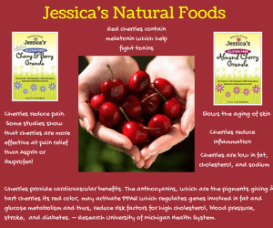 20140803 Day 2 Jessica's Natural Foods - Cherries