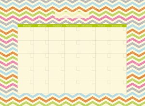 20140815 Wall pops calendar