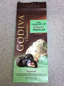 The Mint Chip Mama - ChipBits for 2018 Godiva Mint Chocolate Chip Dessert Truffles