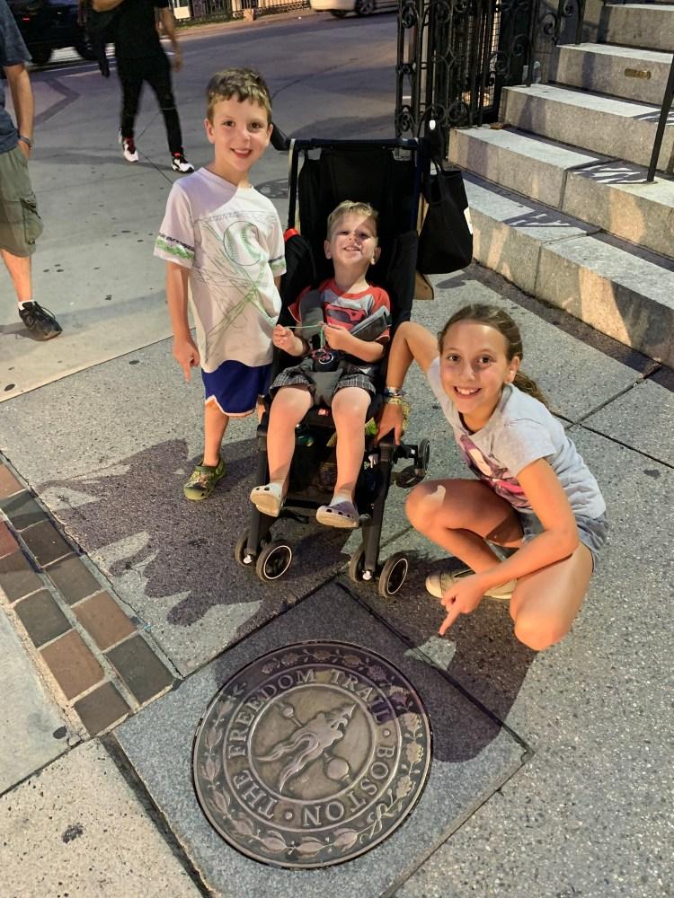 The Mint Chip Mama - Huzzah! Boston - The Perfect Family Vacation