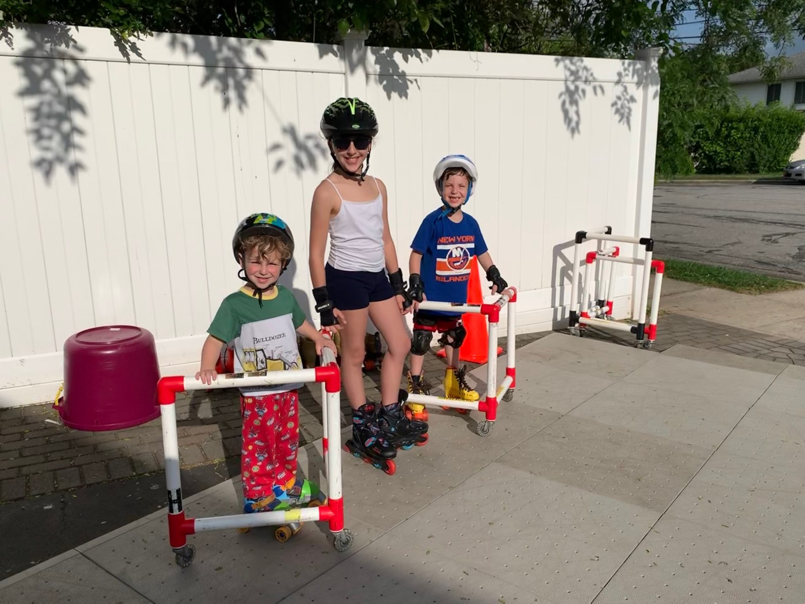 The Mint Chip Mama - Convert Your Driveway Into a Roller Skating Rink!
