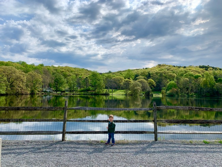 Family Hikes on Long Island - The Mint Chip Mama - St. John's Pond Preserve