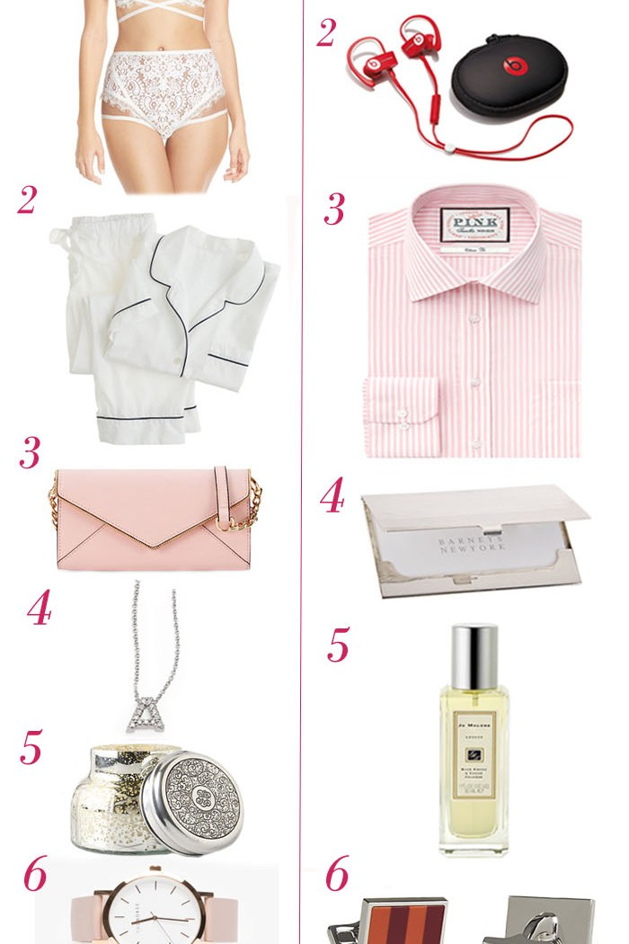 Valentine's Day Gift Ideas for Her & Him