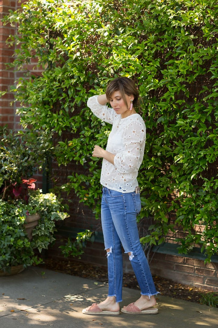 lovely papa star top, kendall kylie espadrilles