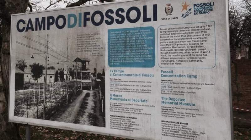 ex campo di concentramento fossoli the minutes fly web magazine shoah