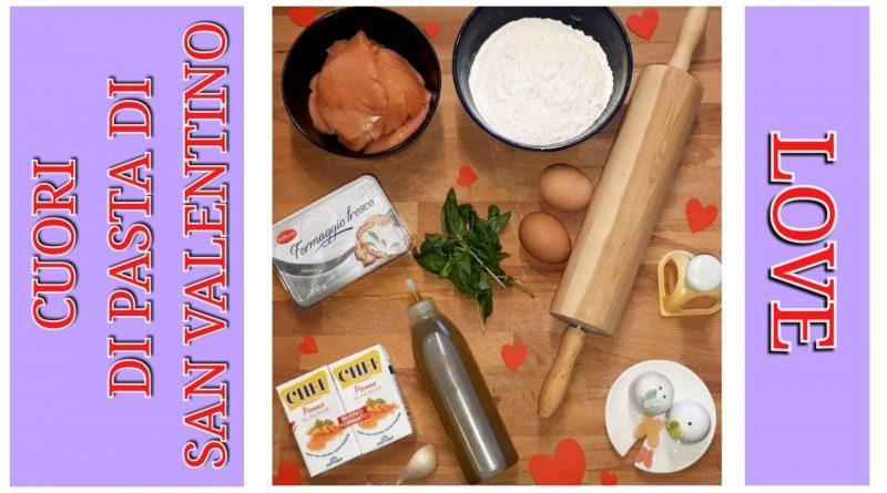 cuori di pasta fresca ripieni al salmone e formaggio spalmabile - cena degli innamorati - san valentino - the minutes fly - web magazine