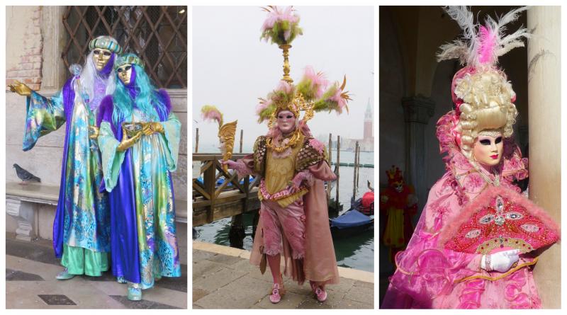 carnevale di venezia - maschere - makeup - dame - settecento - ottocento - carnevale - maschere veneziane - the minutes fly - web magazine