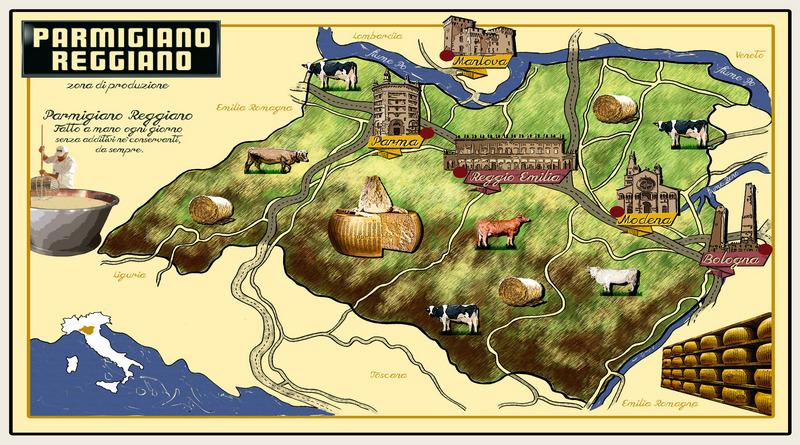 tour gastronomico Emilia Romagna Parmigiano Reggiano Web Magazine The Minutes Fly