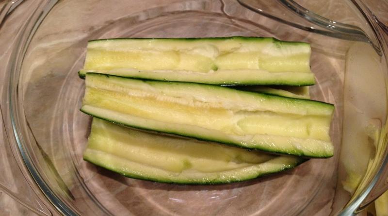 zucchine a vapore