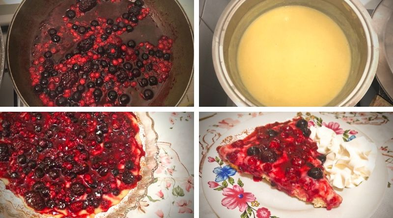 procedimento torta ai frutti di bosco - the minutes fly - web magazine