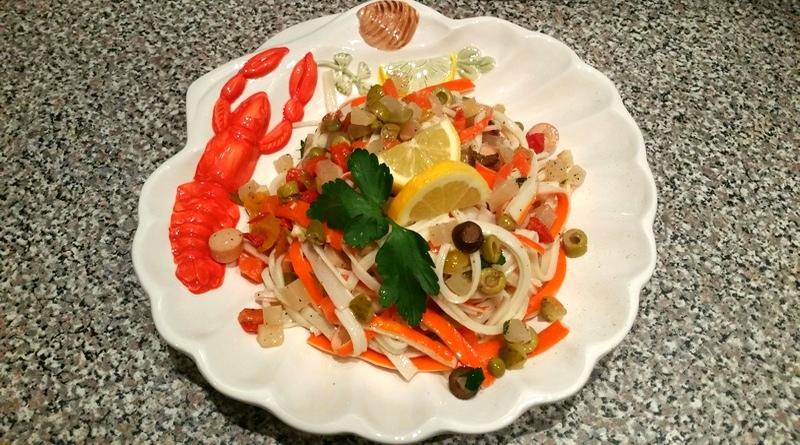 insalata di granchio - the minutes fly - web magazine