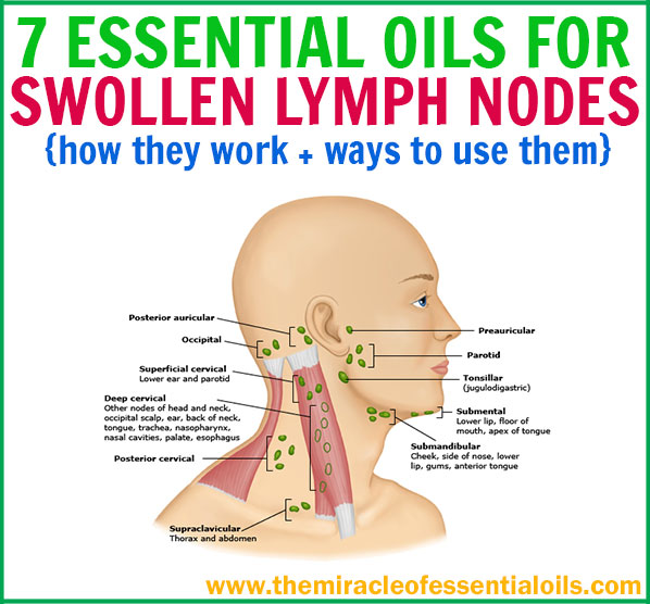 7 Best Essential Oils For Lymph Node Swelling  The