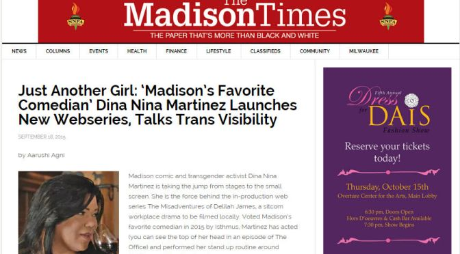 The Madison Times Talks with TMDJ Star