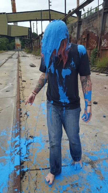 jess c blue