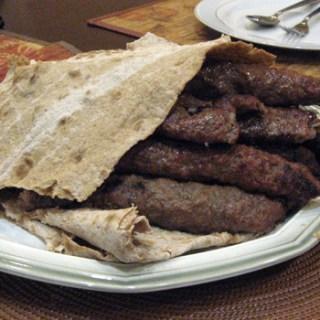 Homemade Iranian Kabab
