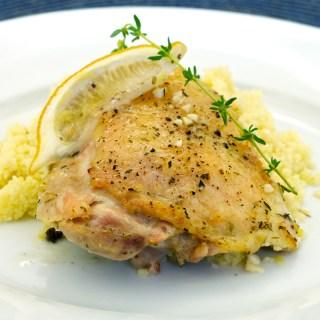 Simple Lemon and Garlic Chicken