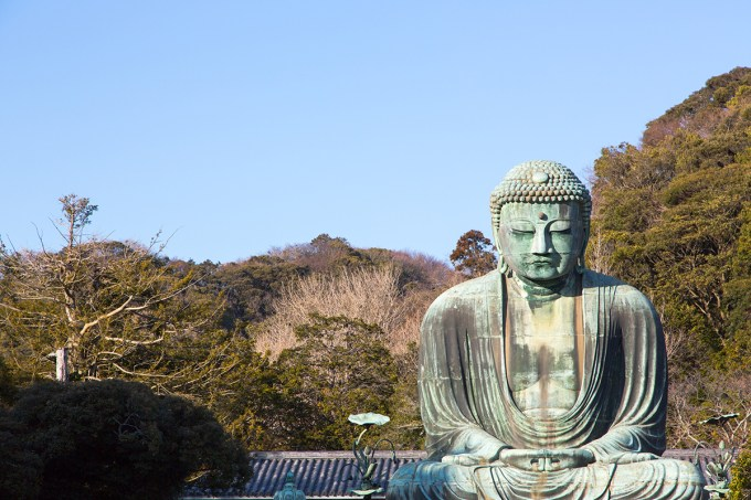 Giant buddha in Kotokuin Temple | The Missing Lokness