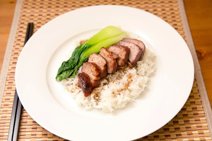 Cantonese Style BBQ Pork over Rice 2