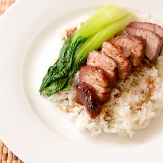 Cantonese Style BBQ Pork over Rice