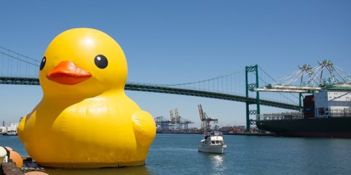 Rubber Duck in Los Angeles