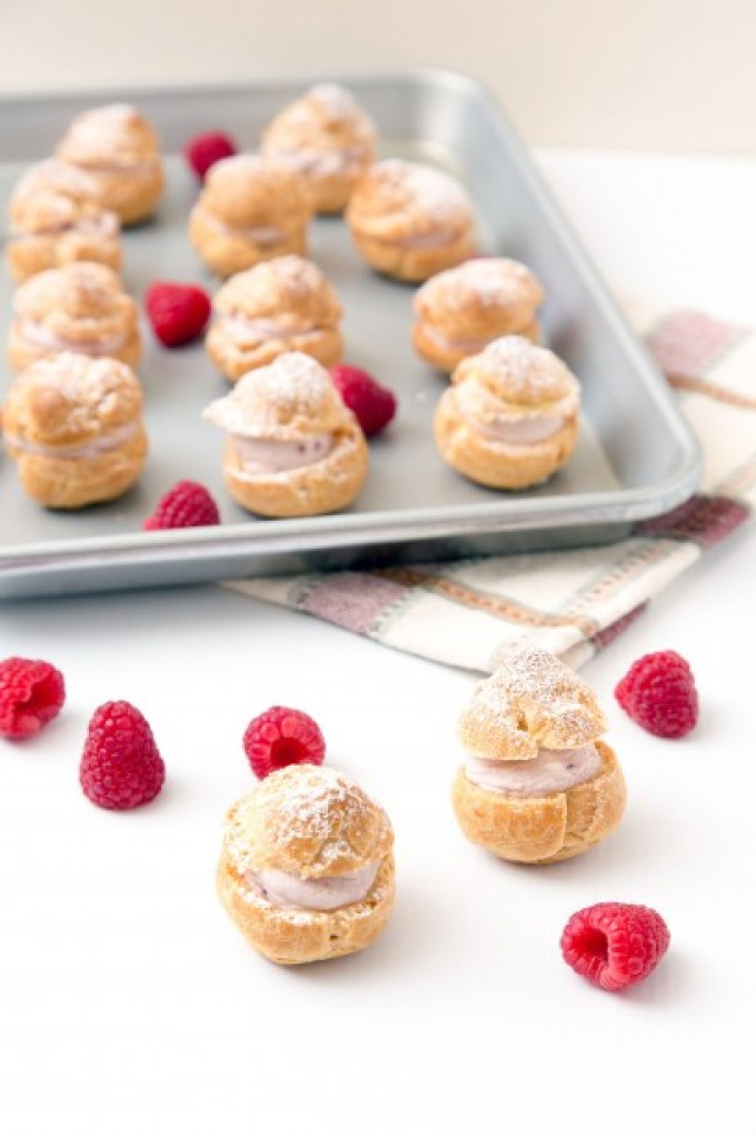 Raspberry Cream Puffs 1 | The Missing Lokness