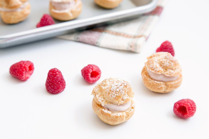 Raspberry Cream Puffs 2 | The Missing Lokness