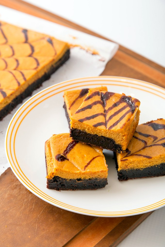 Pumpkin Cheesecake Brownie 1 | The Missing Lokness