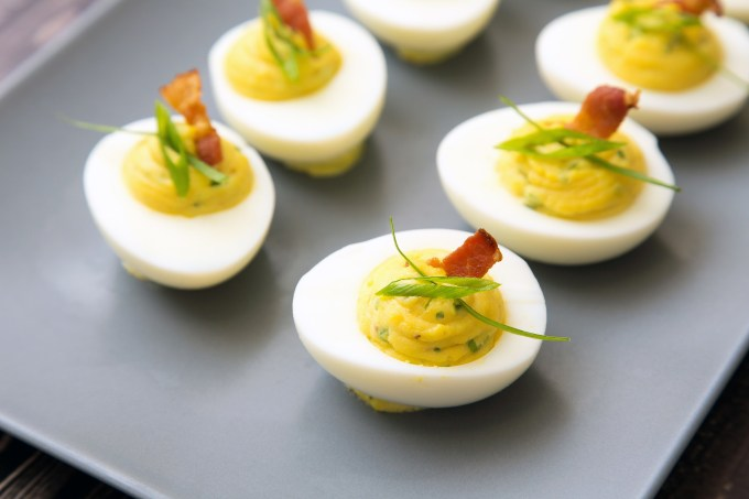 Bacon Deviled Eggs 2| The Missing Lokness