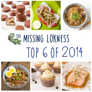 2014 Top 6 Recipes
