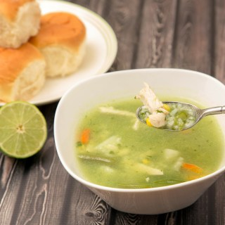 Aguadito de Pollo (Peruvian Chicken and Cilantro Soup)