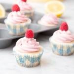 Raspberry Lemon Cupcakes #cupcake #raspberry #lemon #frosting | The Missing Lokness