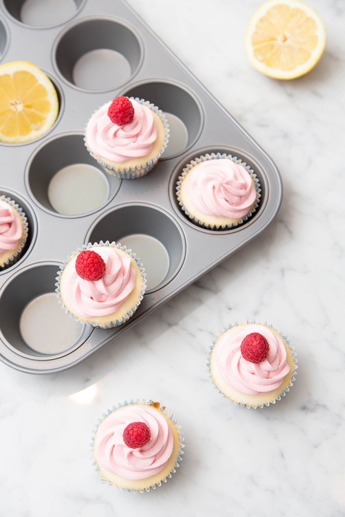 Raspberry Lemon Cupcakes 2 | The Missing Lokness