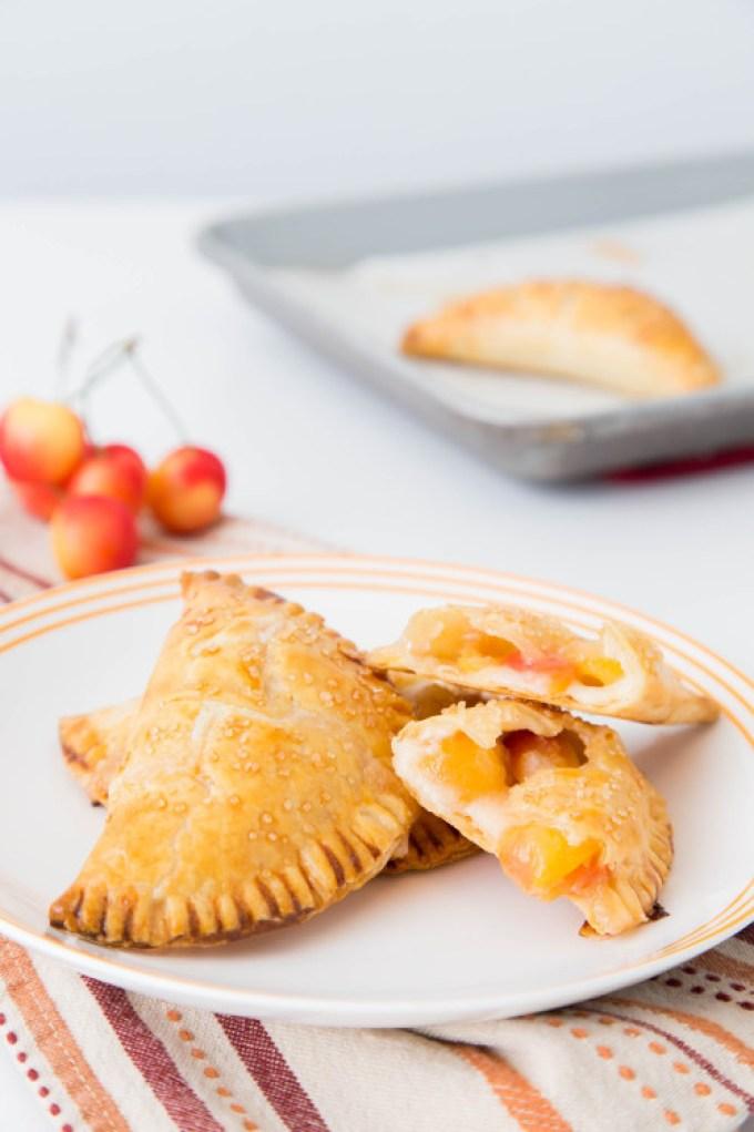Rainier Cherry Cream Cheese Hand Pies 1  The Missing Lokness