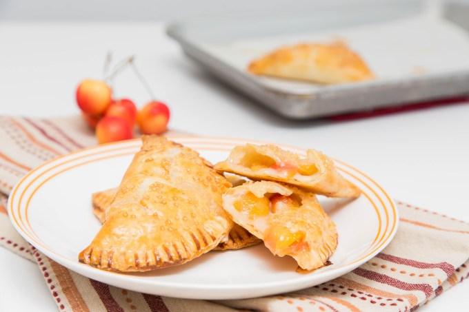 Rainier Cherry Cream Cheese Hand Pies 3  The Missing Lokness
