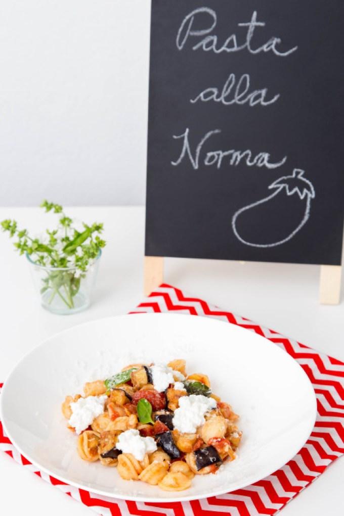 Pasta alla Norma (Eggplant and Tomato Pasta) 4 | The Missing Lokness