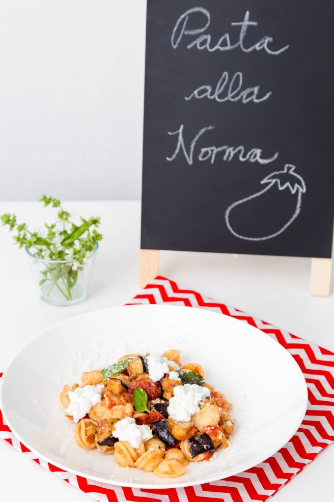 Pasta alla Norma (Eggplant and Tomato Pasta) 4 | The Missing Lokness