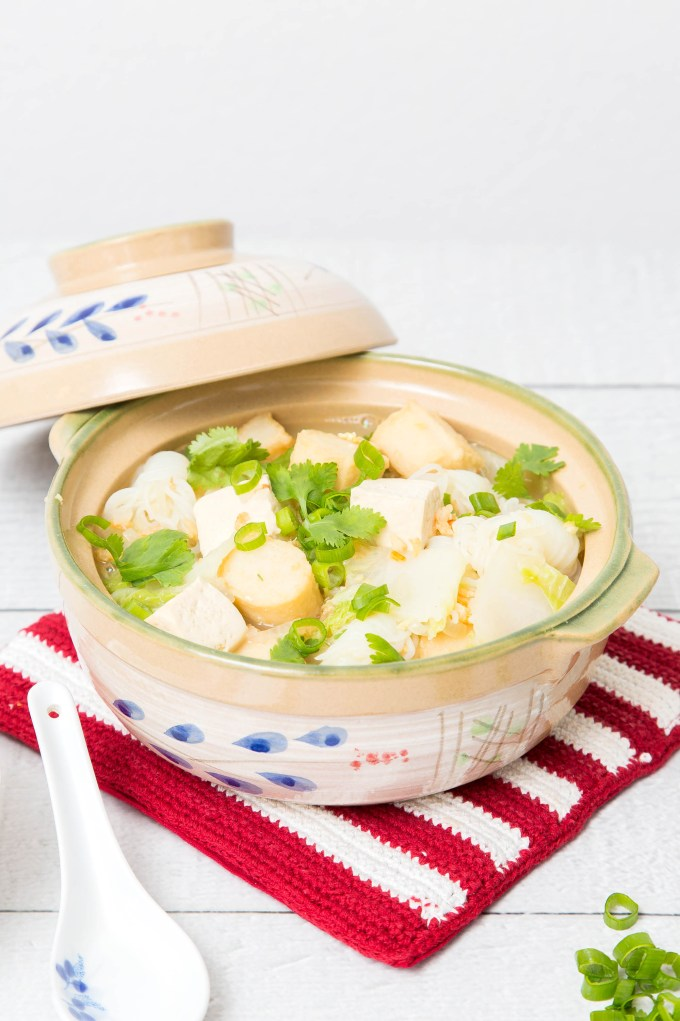 Easy Napa Cabbage Tofu Soup 5  The Missing Lokness