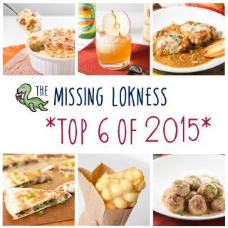 2015 Top 6 Recipes