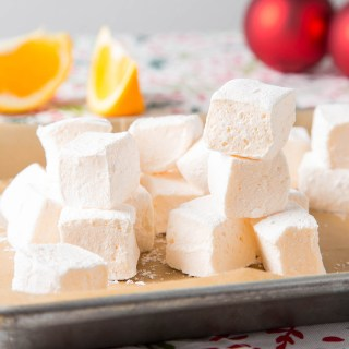 Orange Marshmallows #orange #marshmallow #holidayrecipe #edibletreat #gelatin #glutenfree #candy #citrus #dessert #dessertrecipe | The Missing Lokness