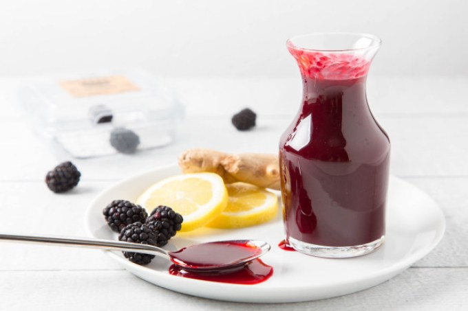 Blackberry Ginger Syrup 2| The Missing Lokness