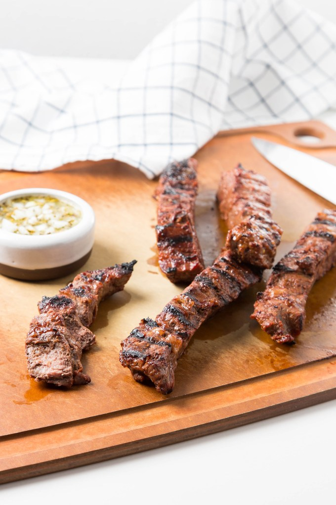Grilled College Marinated Steaks 1| The Missing Lokness