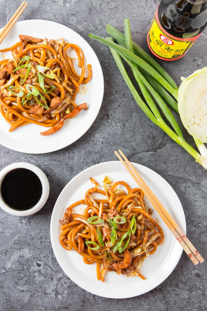 Stir-Fried Swiss Sauce Chicken Udon 3| The Missing Lokness