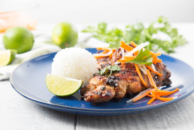 Vietnamese Grilled Lemongrass Chicken Thighs 2| The Missing Lokness