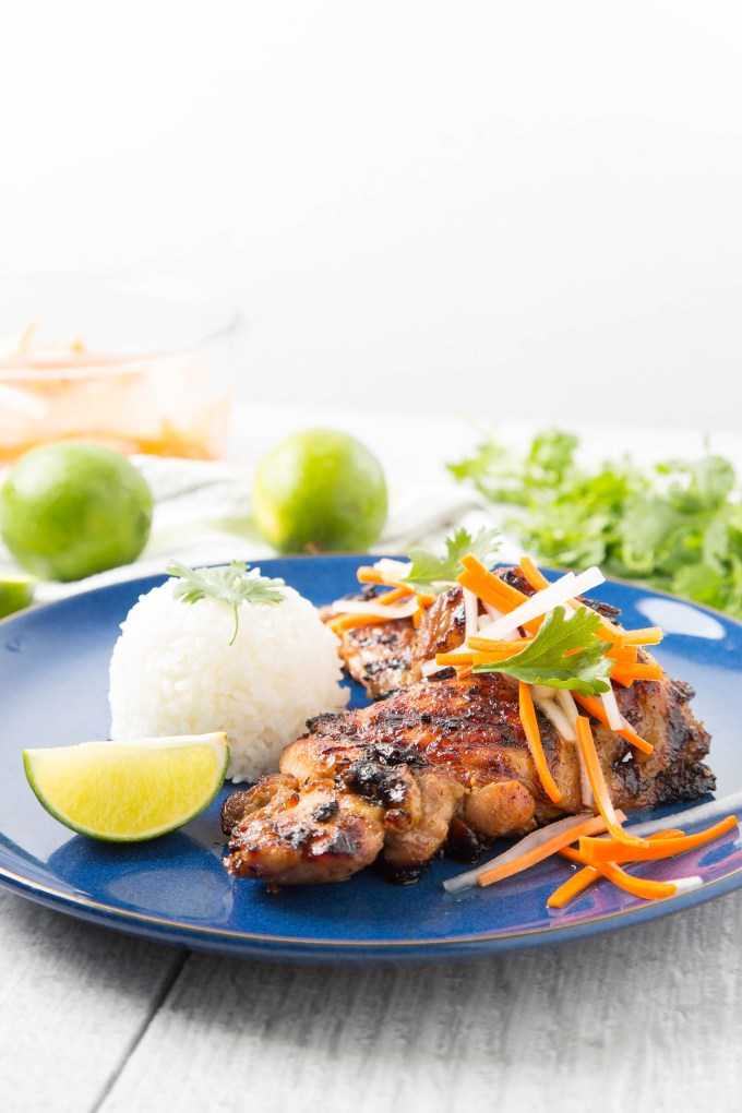 Vietnamese Grilled Lemongrass Chicken Thighs 1 | The Missing Lokness
