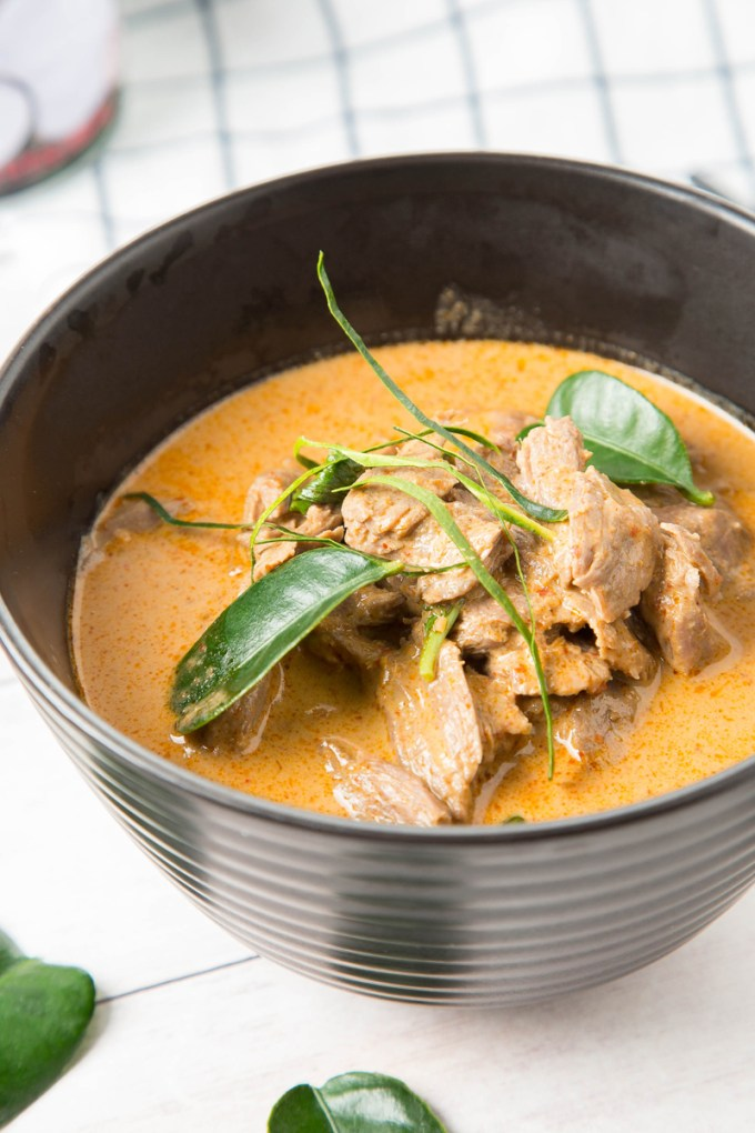 Thai Panang Curry with Beef 2| The Missing Lokness