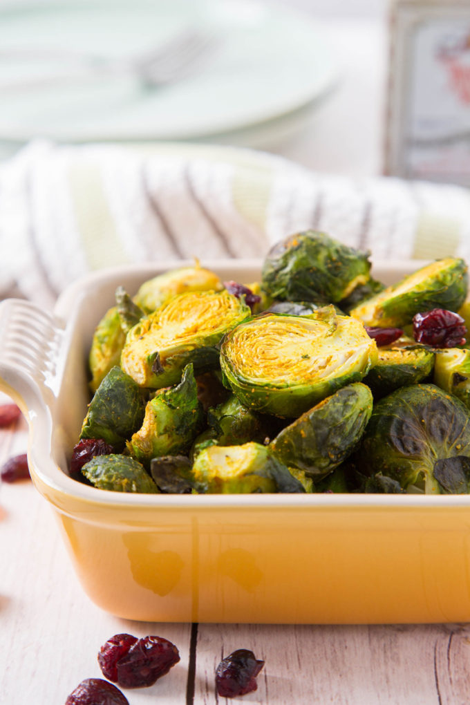 Curry-Roasted Brussels Sprouts 1| The Missing Lokness